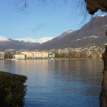 Lugano Lake, Switzerland, January 2014