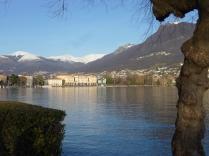 Lugano Lake, Switzerland, January 2014
