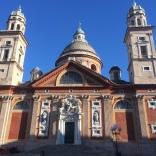 Italy, Genoa, Piazza Carignano, February 2014