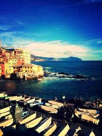 Italy, Genoa, Boccadasse, April 2014