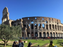 Italy, Rome, Colosseo, Dicember 2014